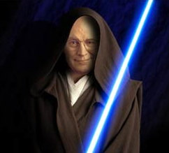 Darth Cheney courtesy of that other dark side in the 'nacle