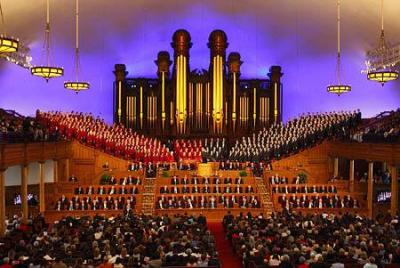 Tabernacle Choir At Conference